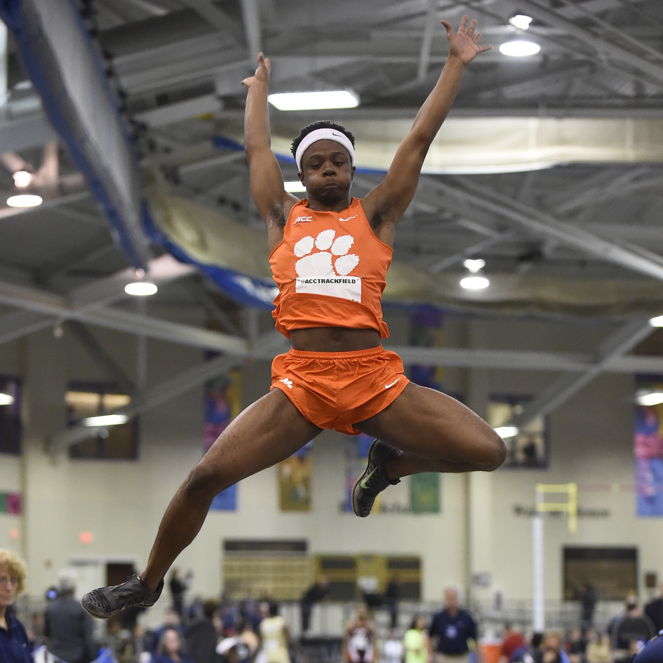 McBride Sets School Mark with Fifth Place Finish in Long Jump at NCAA Finals