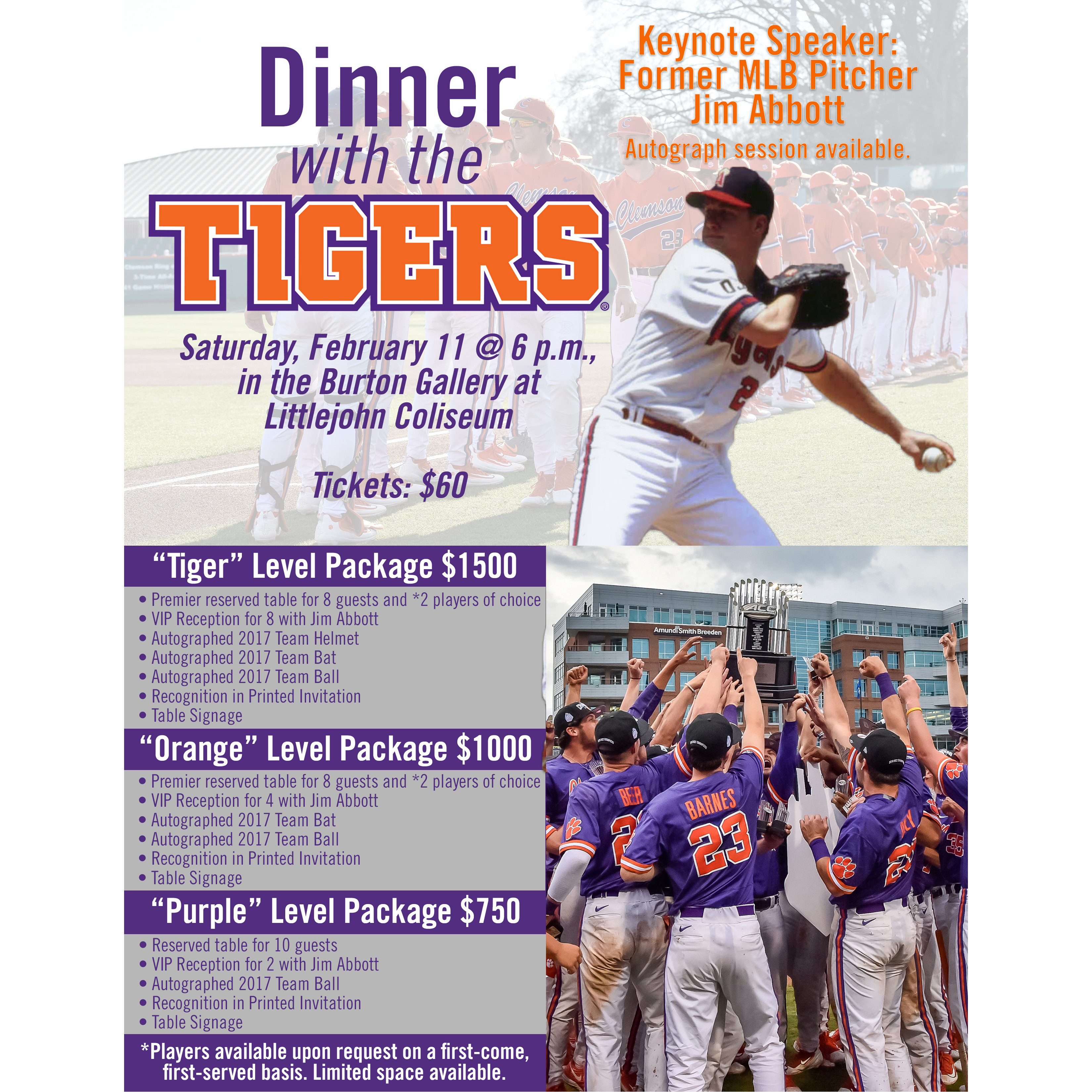 Dinner With the Tigers