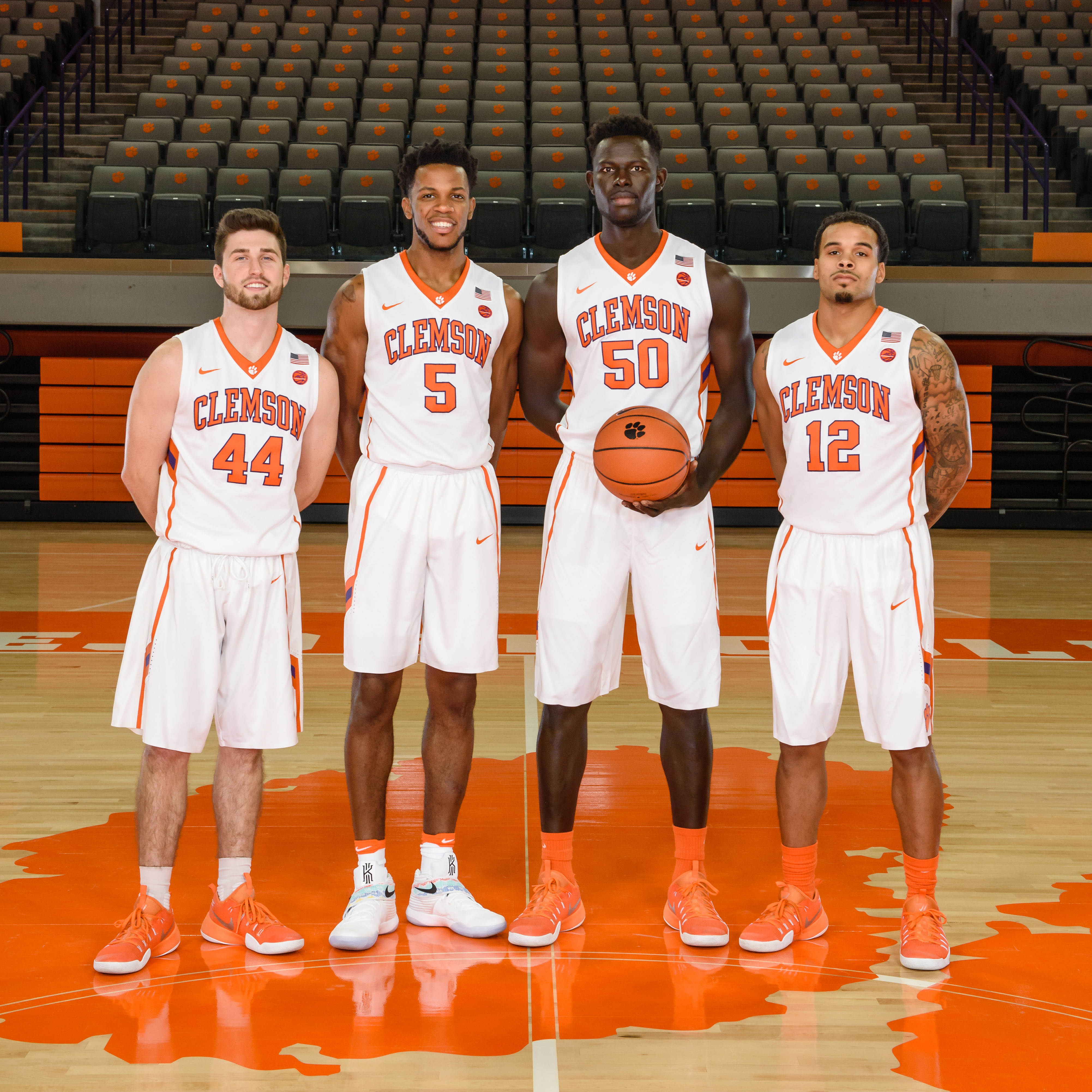 Tigers Ready for Senior Day