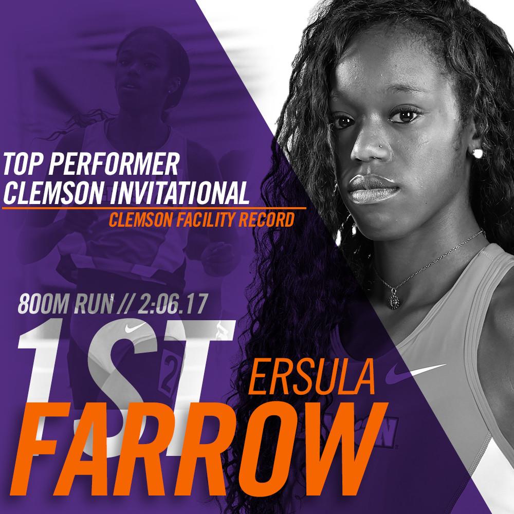 Farrow Claims 800M Facility Record