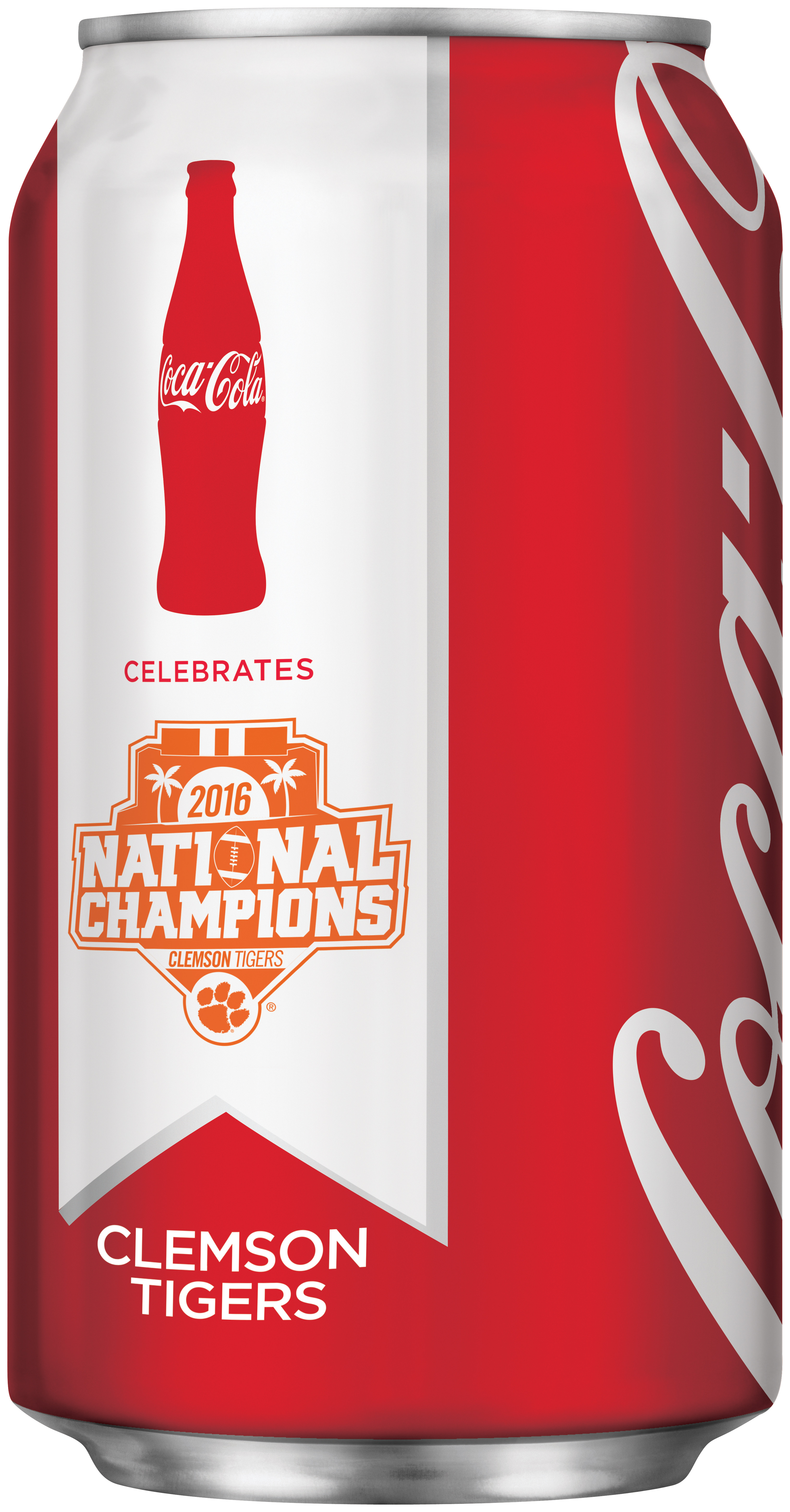 Coca-Cola To Release Commemorative Clemson Cans