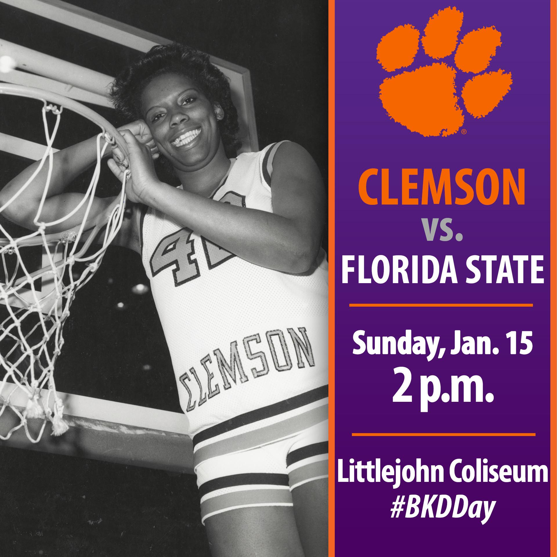 Clemson Hosts No. 7/7 Florida State Sunday