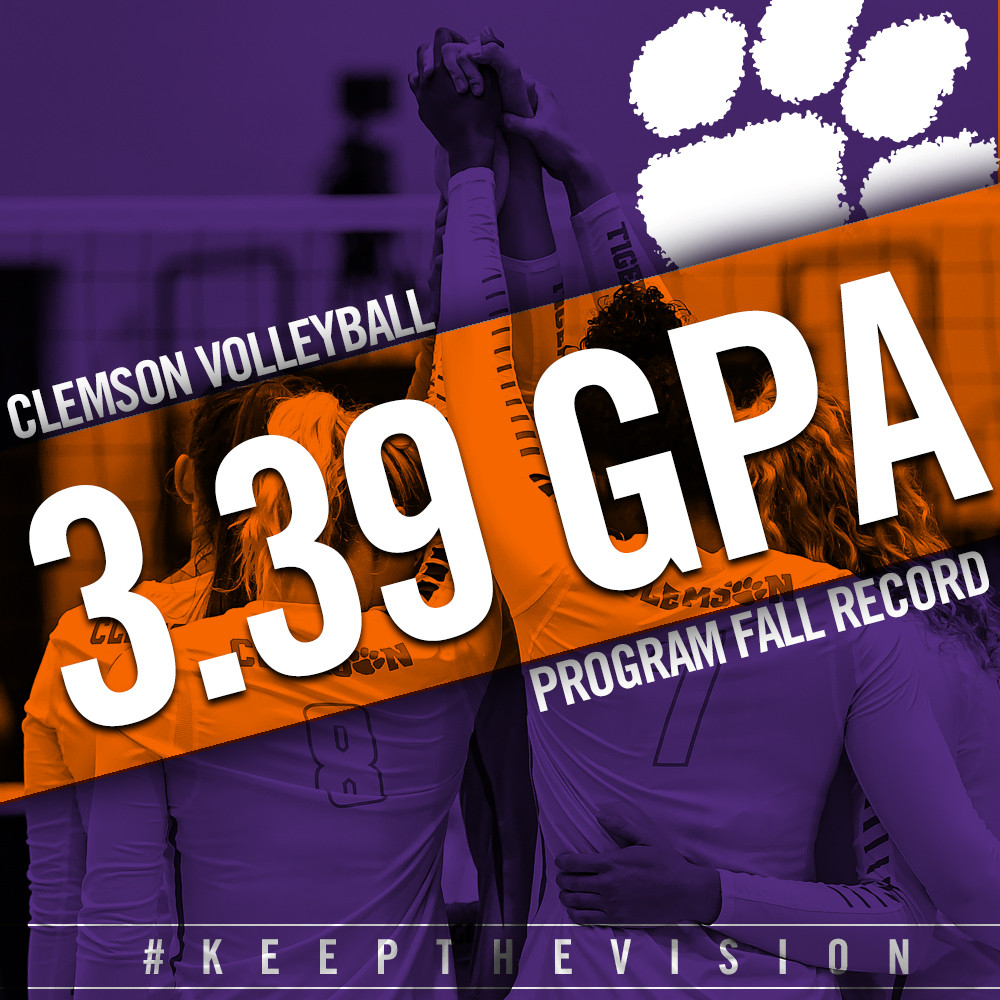 Volleyball Sets Fall GPA Record