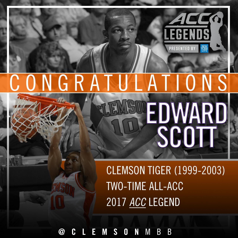 Scott Named 2017 ACC Legend