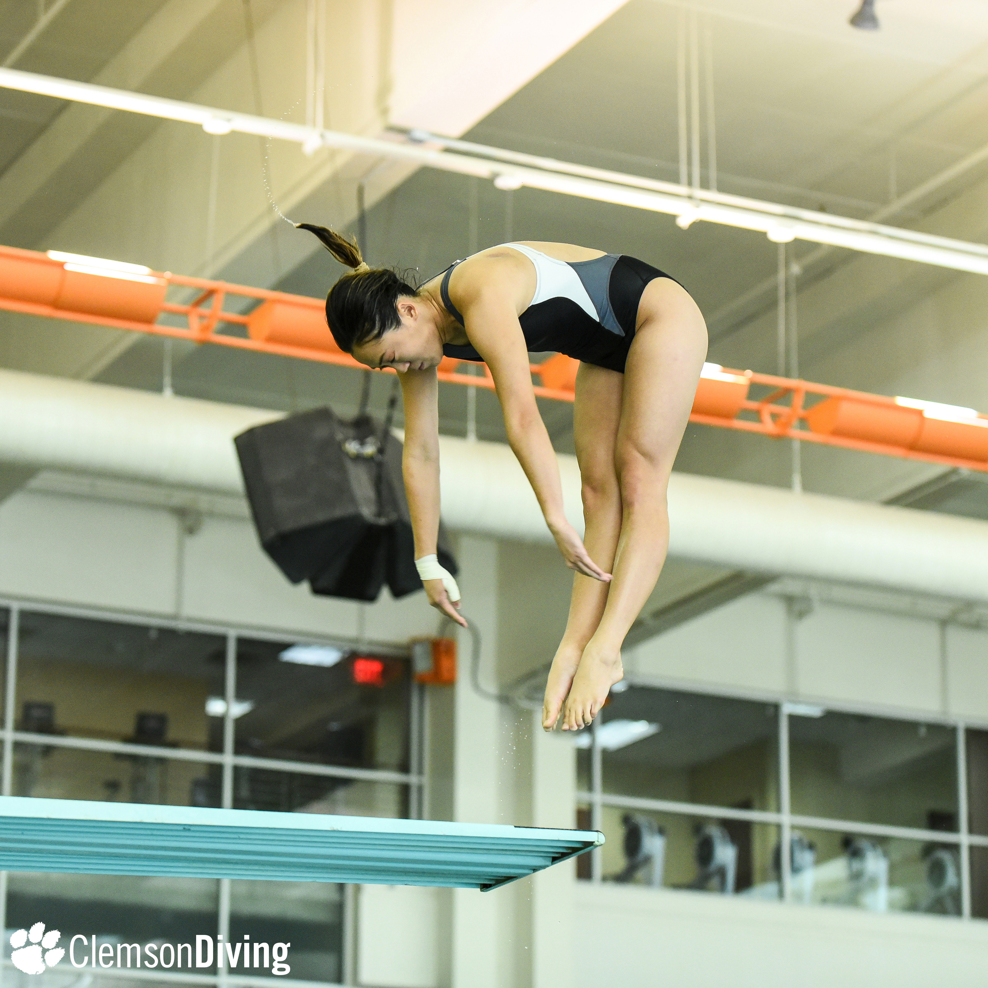 Tigers End Tennessee Diving Invitational on High Note