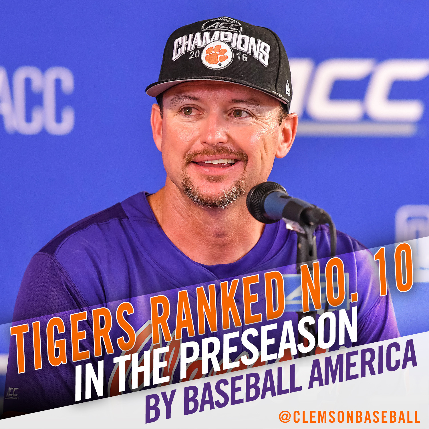 Tigers No. 10 in BA Ranking