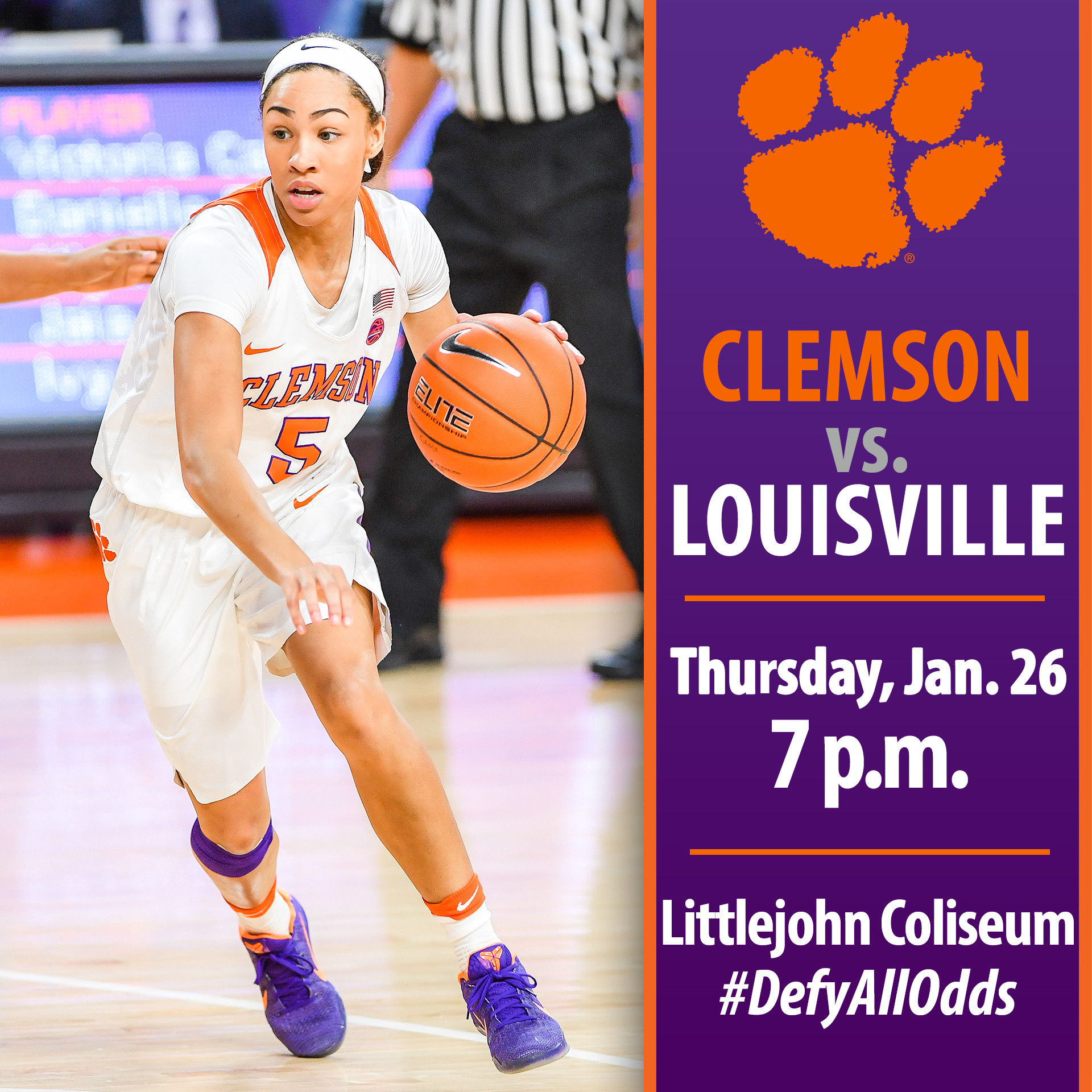 Tigers Host No. 9/8 Louisville Thursday