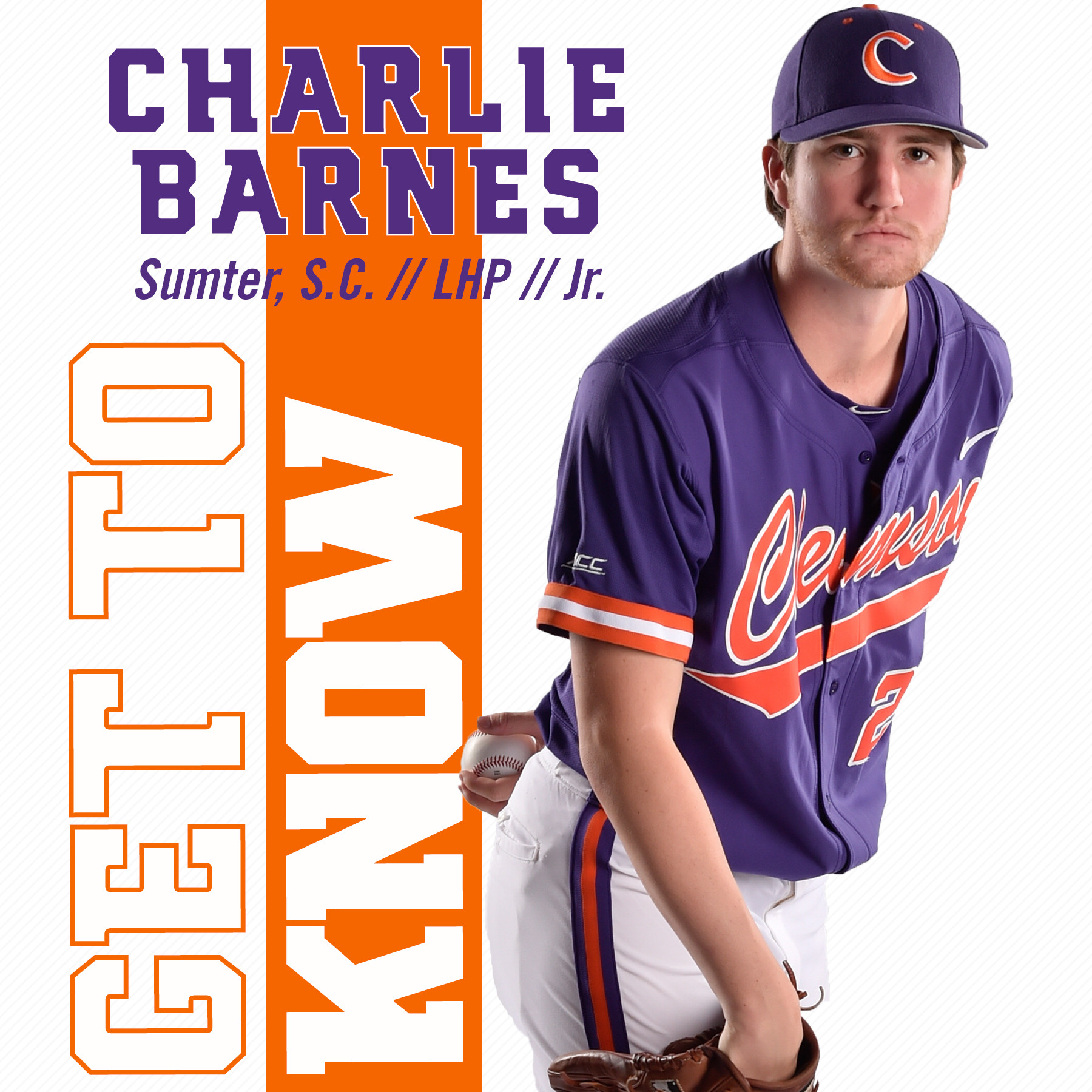 Get To Know Charlie Barnes