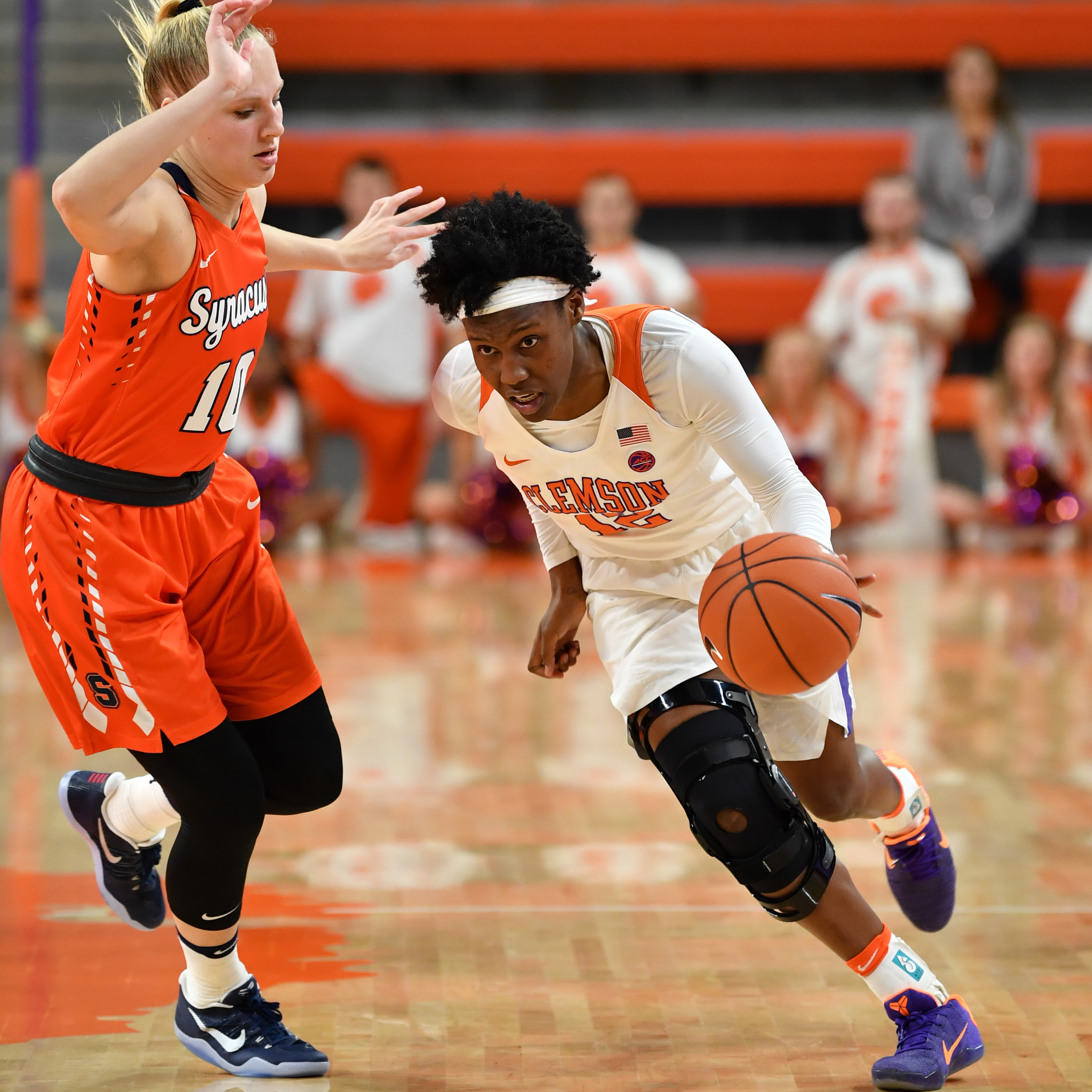 Collier's Career Night Not Enough in Loss to No. 25 Syracuse