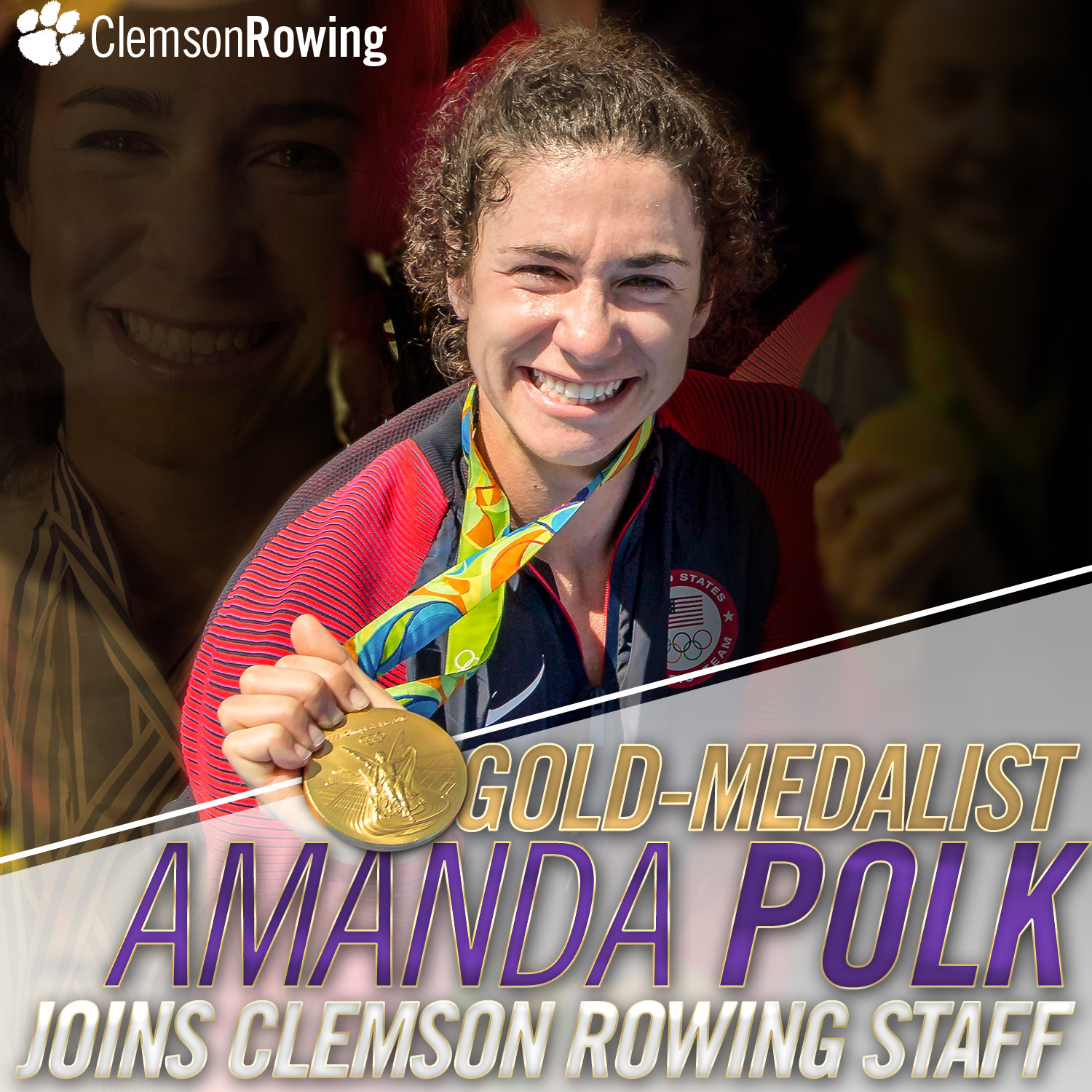 Polk Added to Rowing Staff