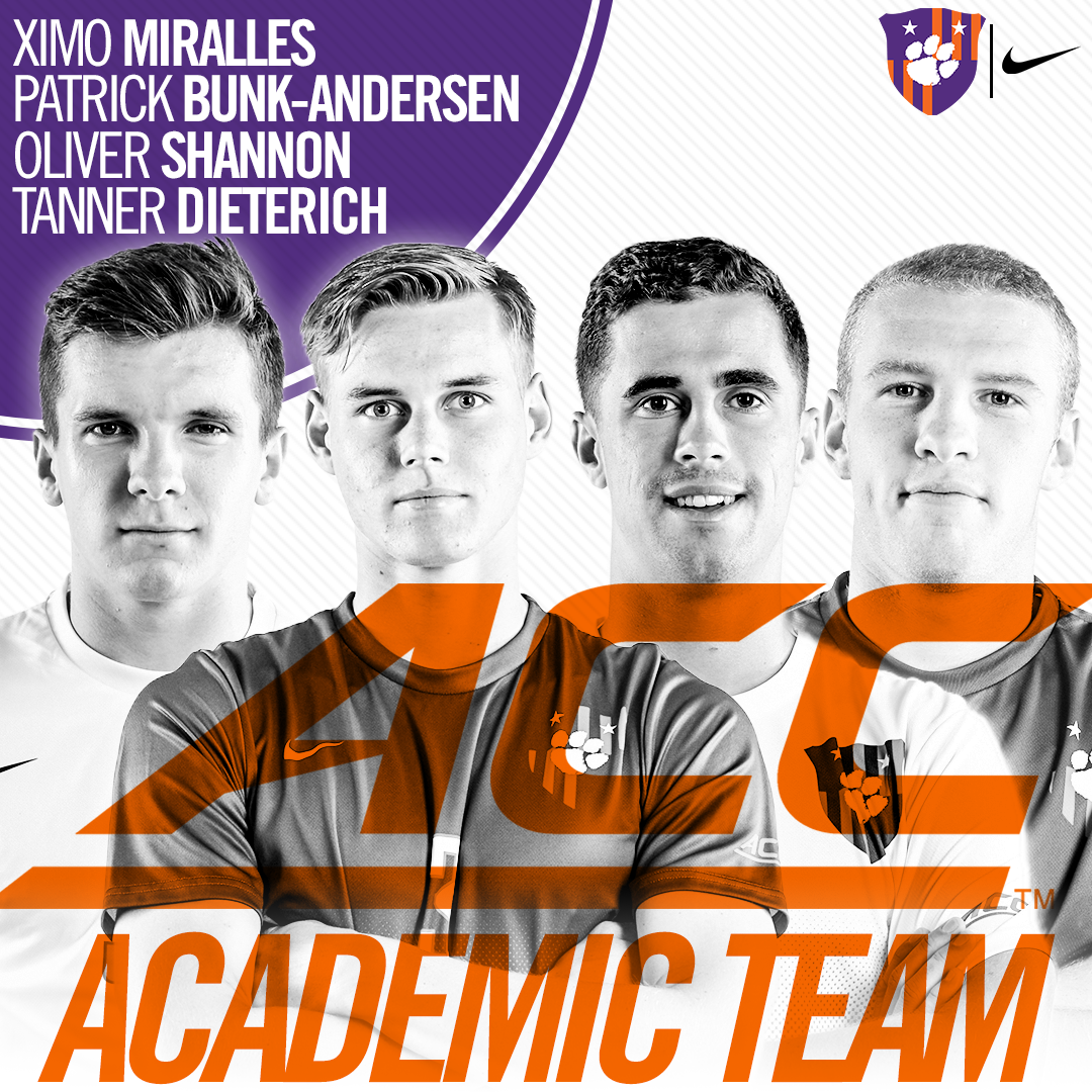 Four Tigers Earn All-ACC Academic Honors