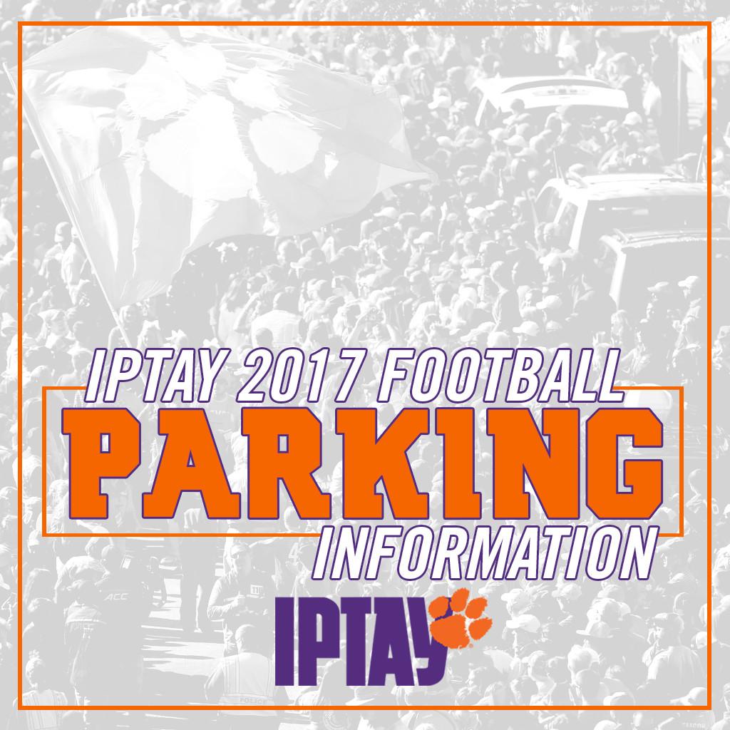 2017 Clemson Football Parking