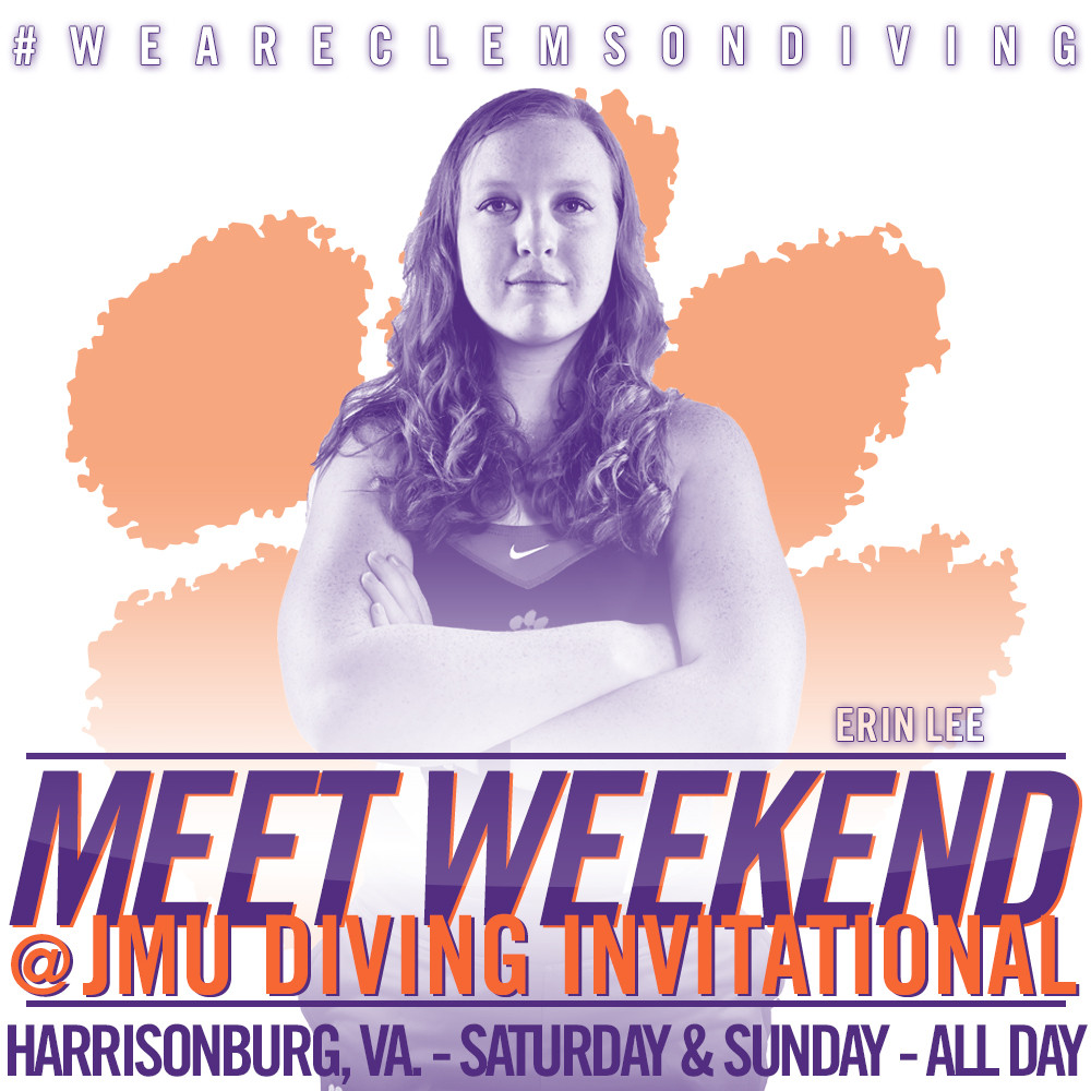 Tigers Wrap Up Regular Season at JMU Diving Invitational