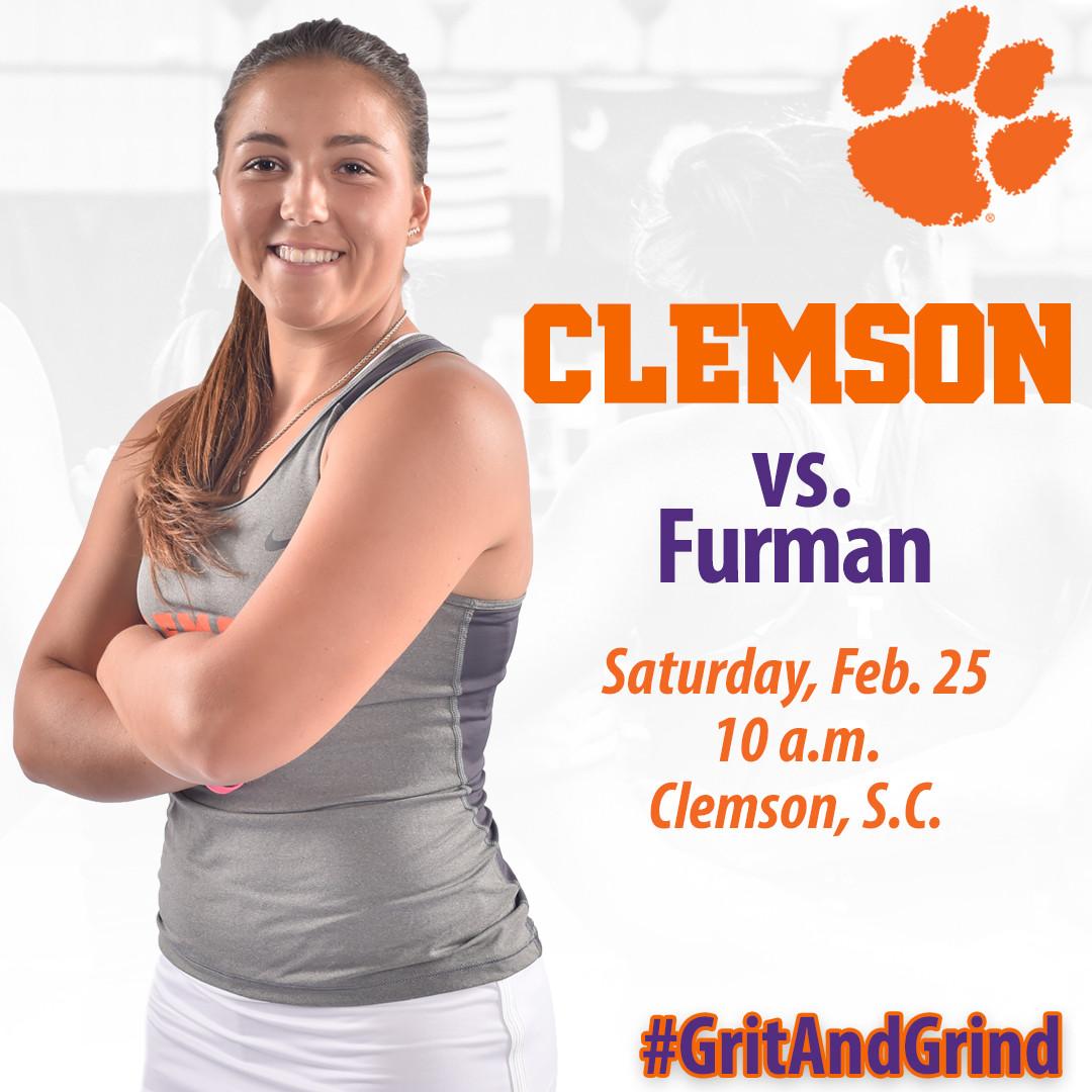 Clemson Hosts Furman Saturday Morning
