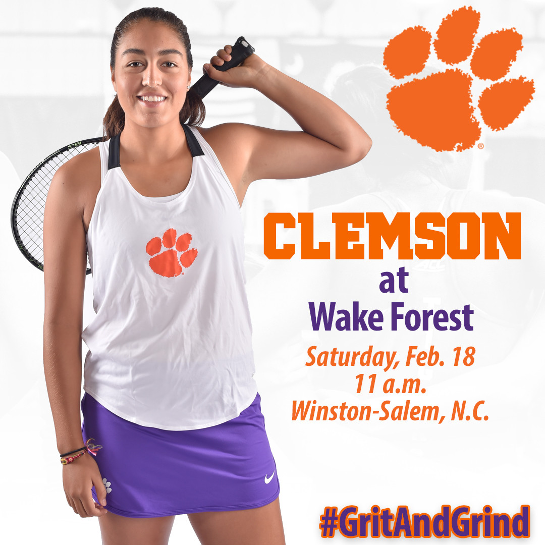 Tigers Open ACC Season at Wake Forest Saturday