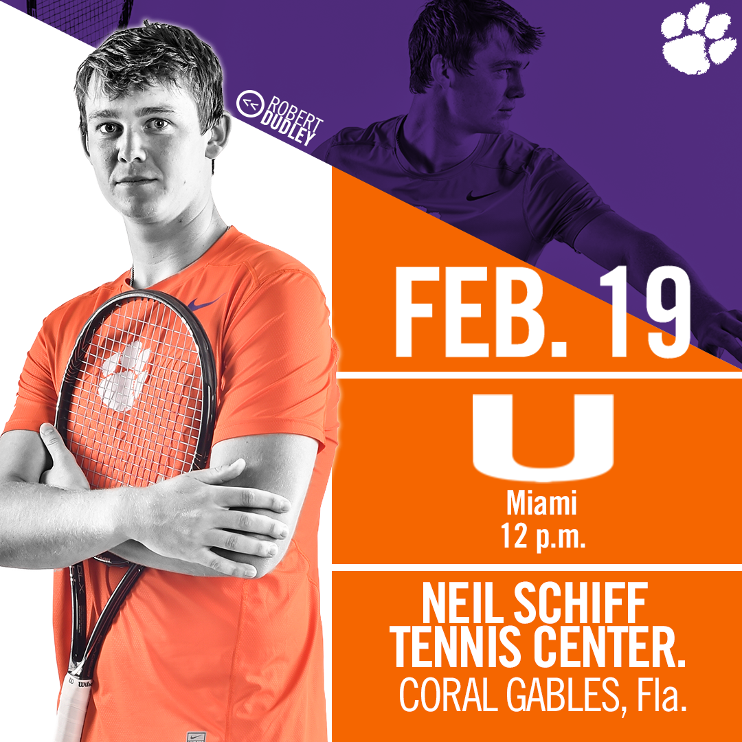 Clemson Opens ACC Play at Miami