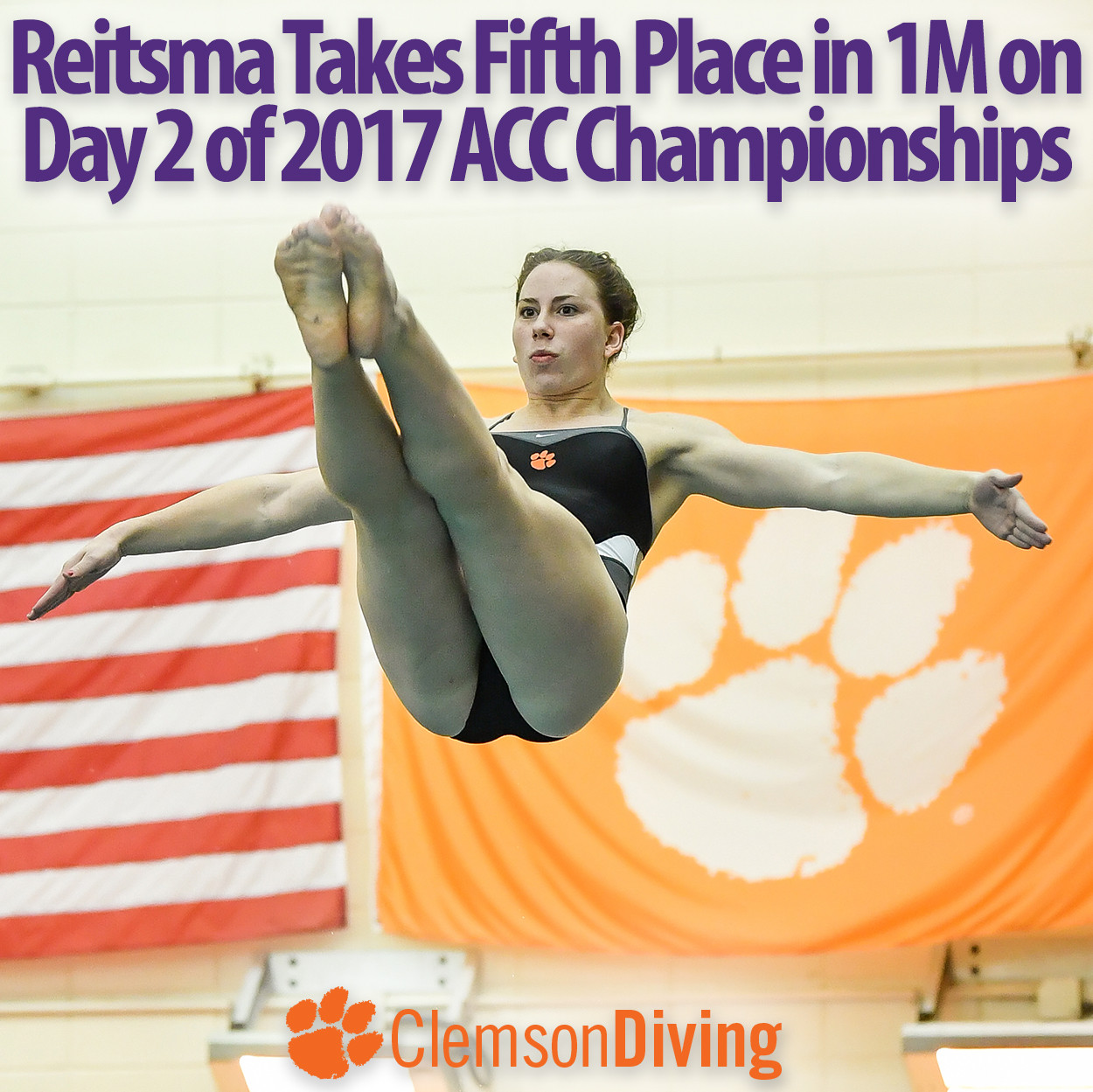 Reitsma Places Fifth in 1M at ACC Championships Tuesday, Best Finish in Recent Program History