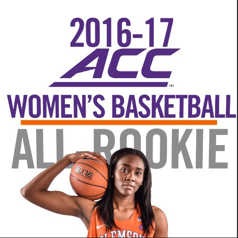 Thornton Named to 2017 ACC All-Freshman Team, First Clemson Player Since 2012