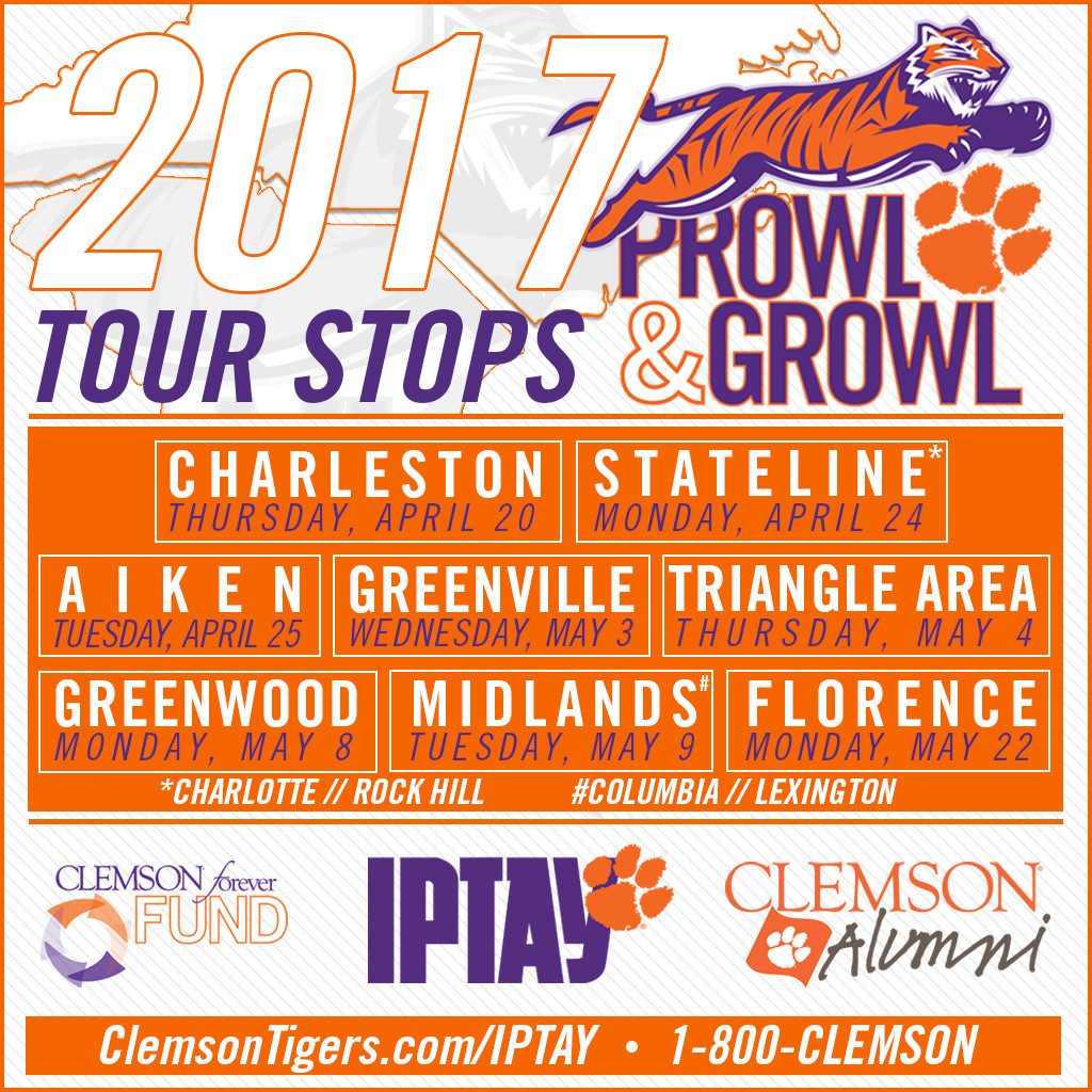 2017 Prowl & Growl Tour Kicks Off This Week In Charleston
