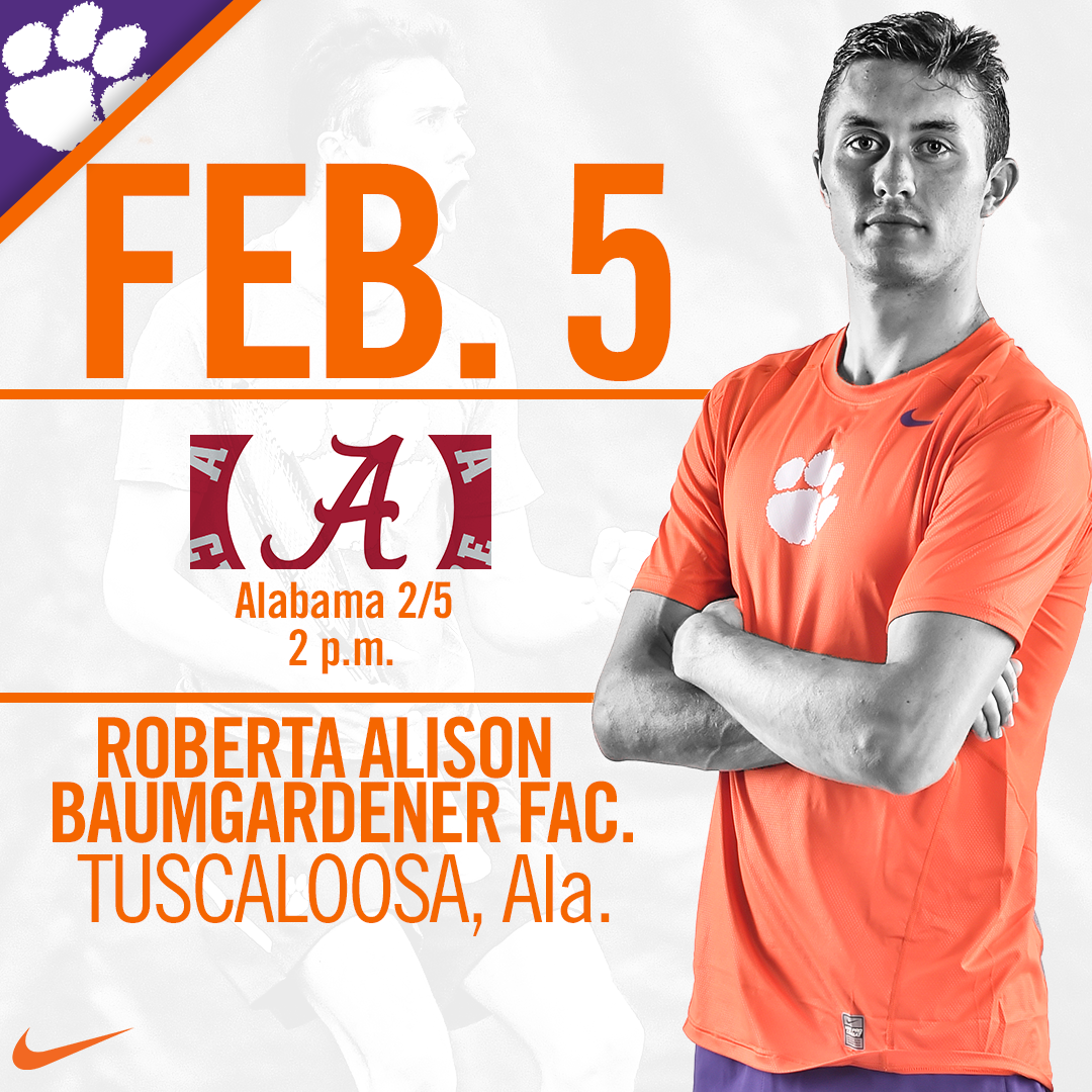 Clemson Travels to Tuscaloosa