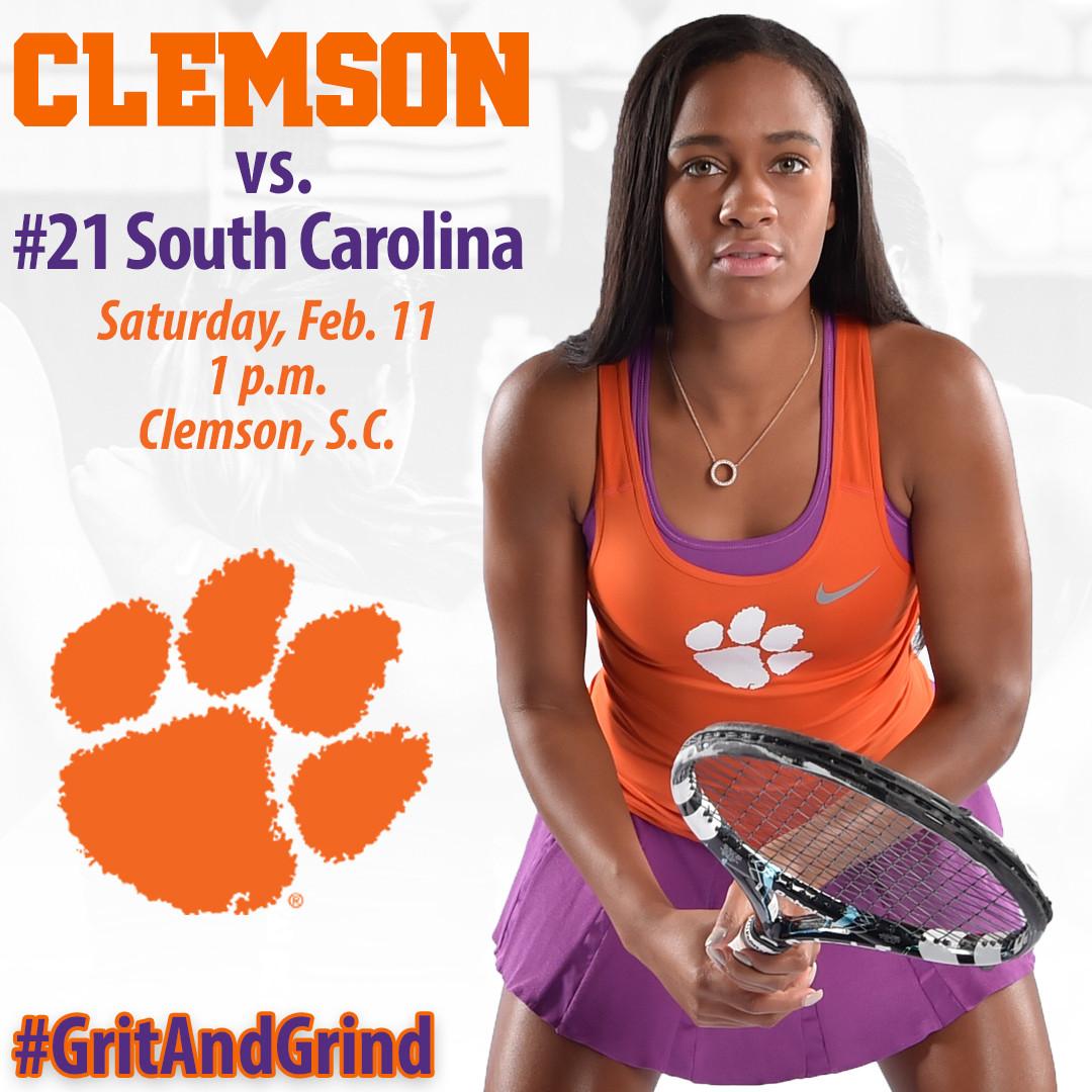 Clemson Hosts No. 21 South Carolina Saturday