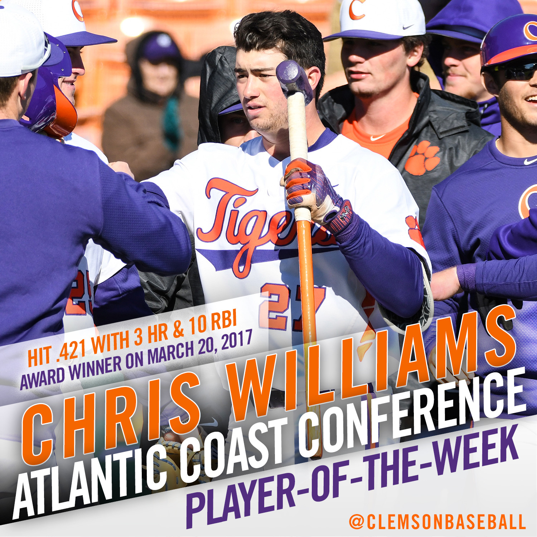 Williams Named ACC POTW