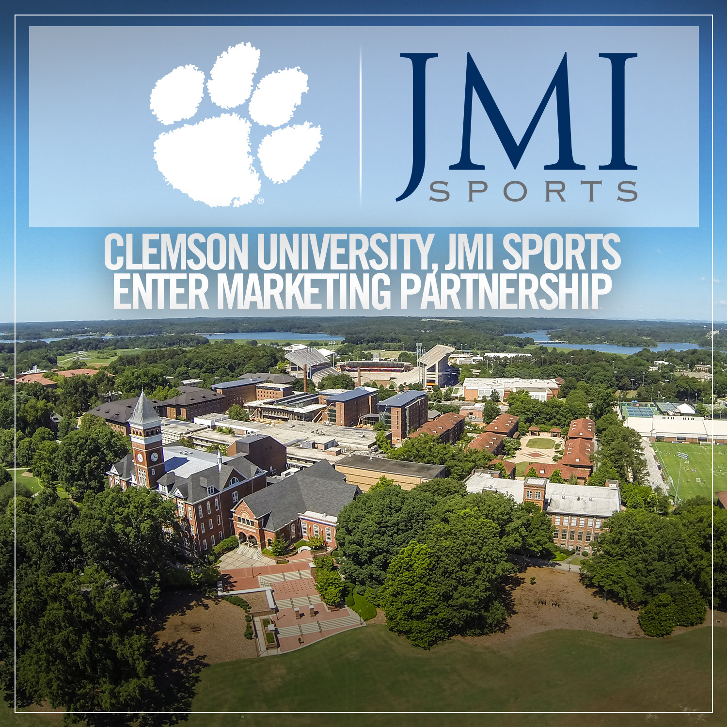 Clemson, JMI Sports to Begin Marketing Agreement