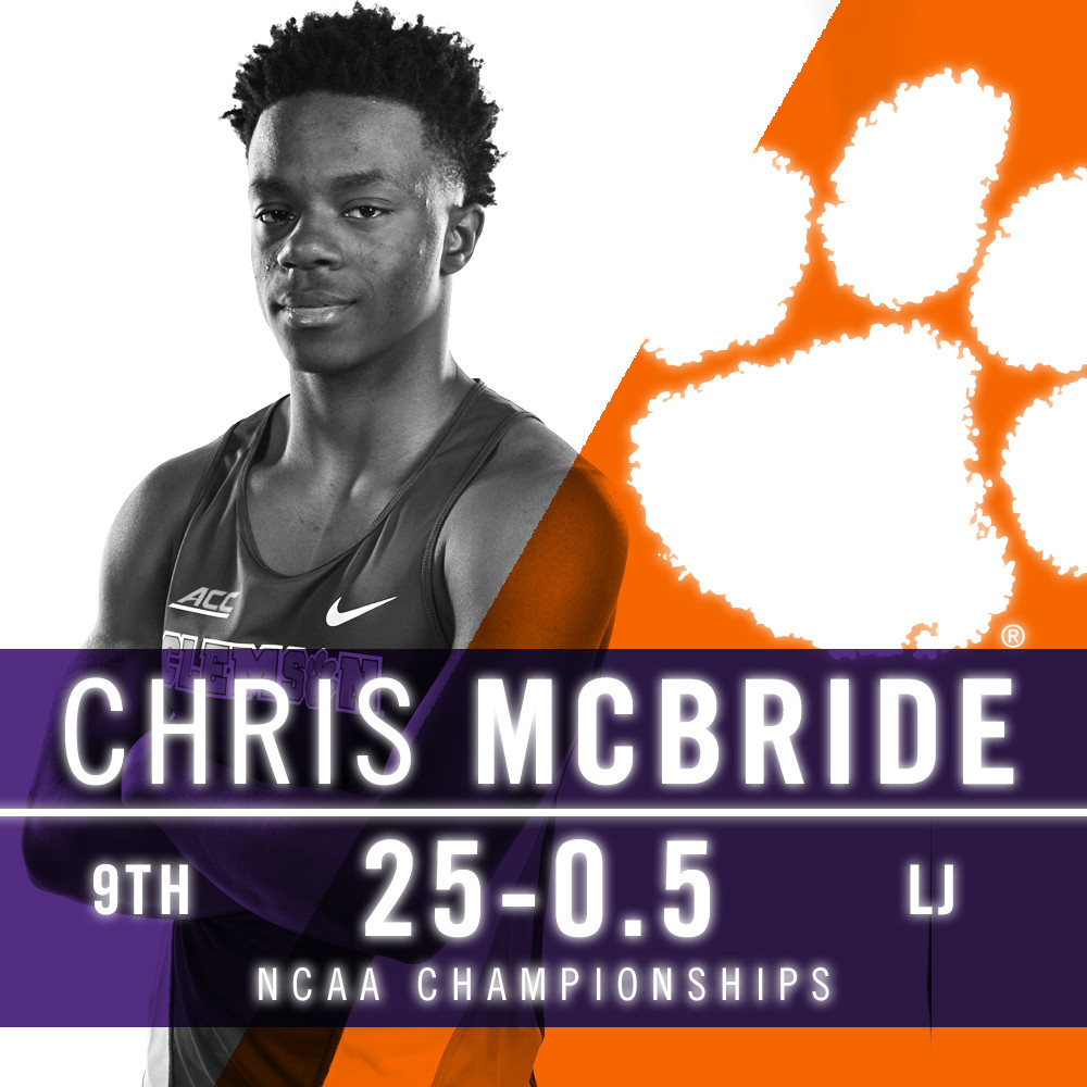 Chris McBride Finishes Ninth At NCAA Championships
