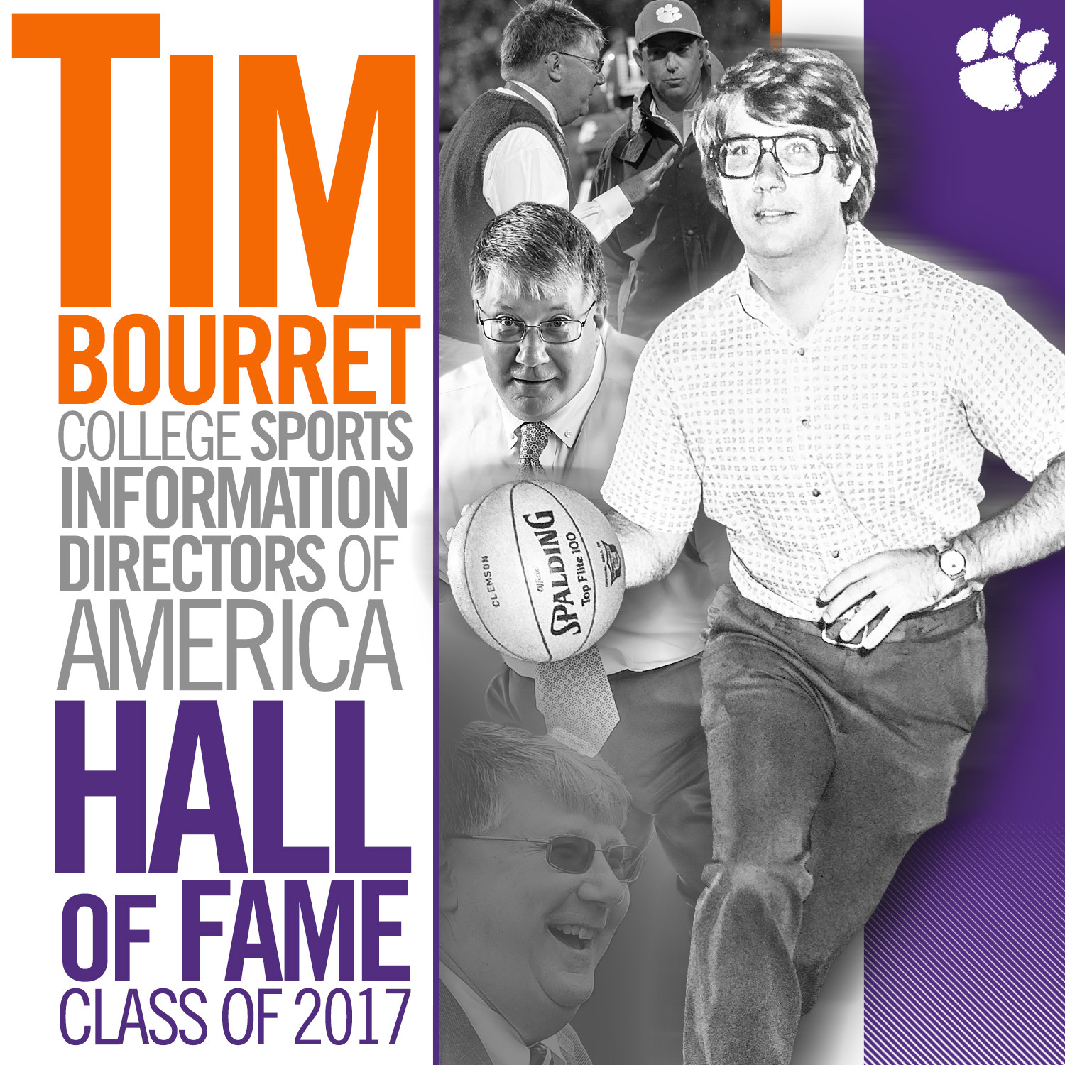 Bourret Selected for CoSIDA Hall of Fame