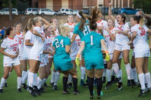 Play video: Clemson Women's Soccer || ClemsonLIFE Visits Women's Soccer, 3/6/17