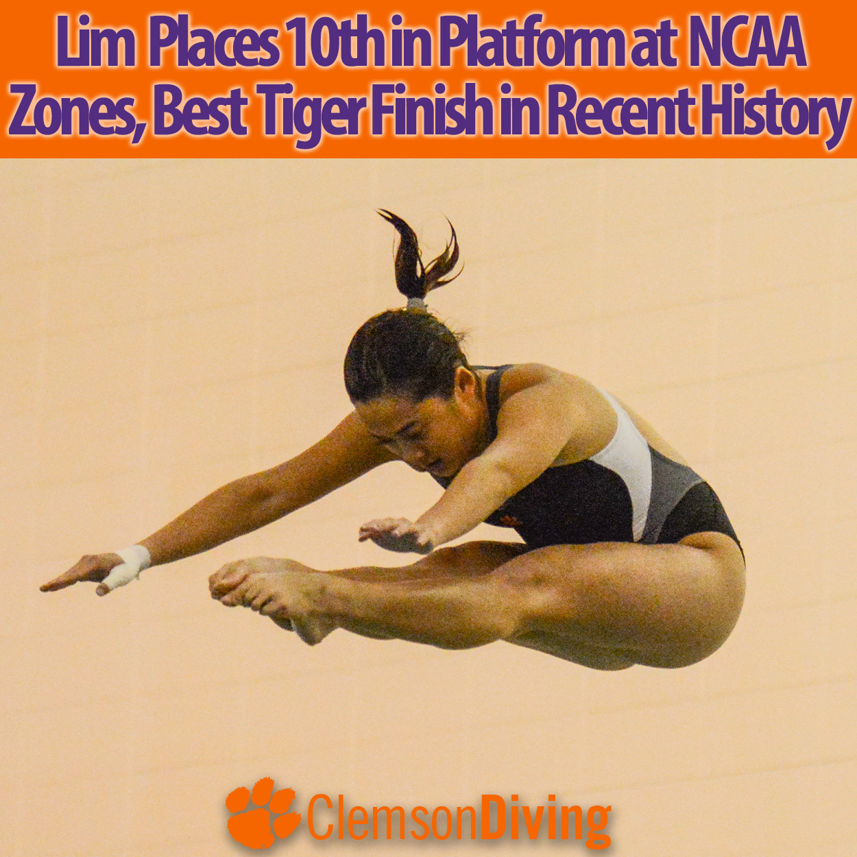 Lim Records Clemson's Best NCAA Zone Finish in Recent History Wednesday