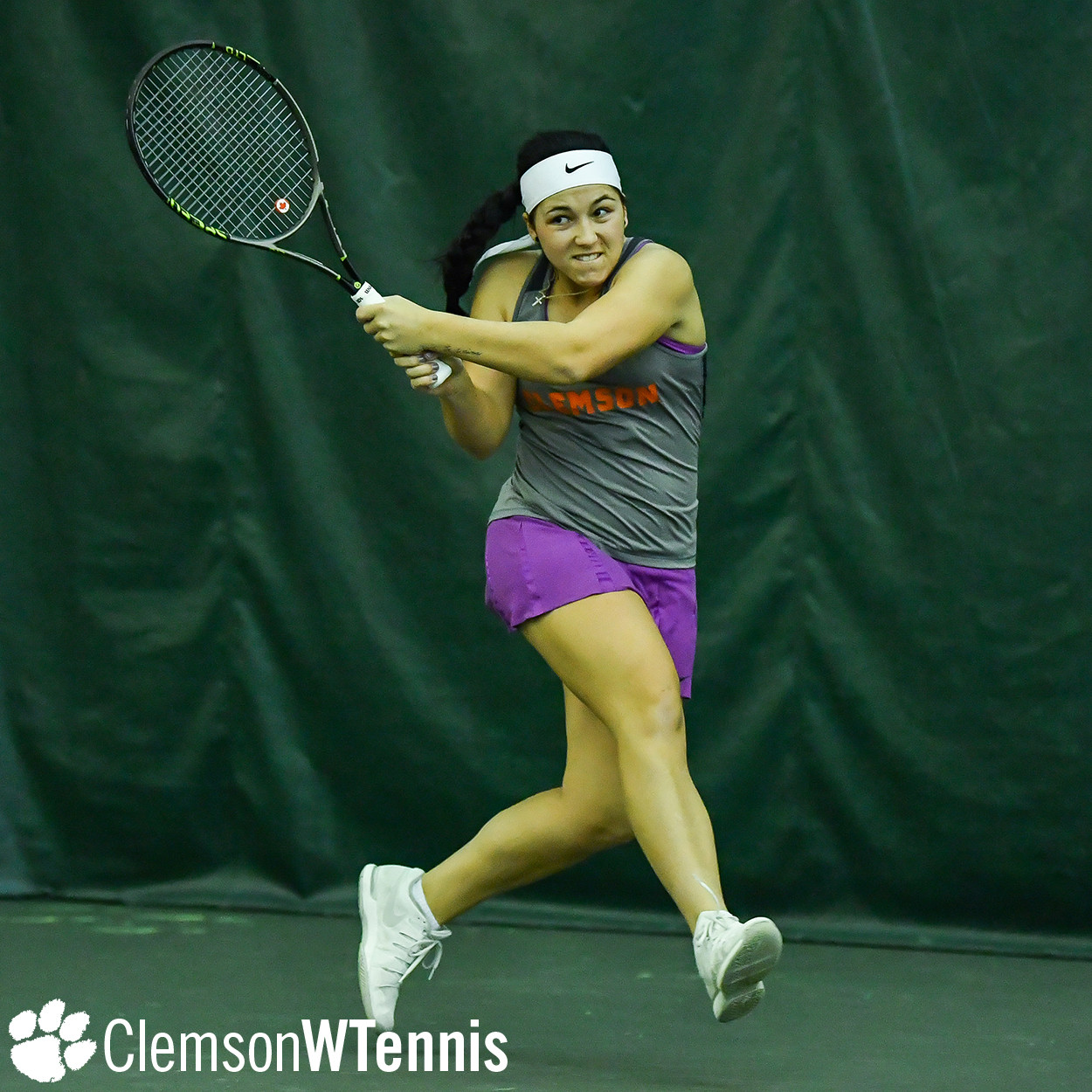Leduc Earns Singles Upset, but Tigers Fall at NC State Friday