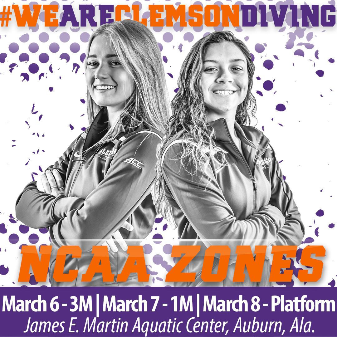 Clemson to Compete at NCAA Zones March 6-8 in Auburn, Ala.