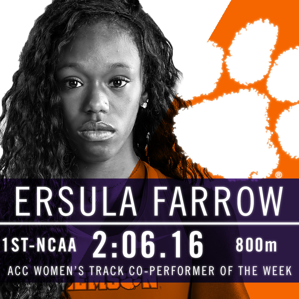 Farrow Earns Share of ACC POTW