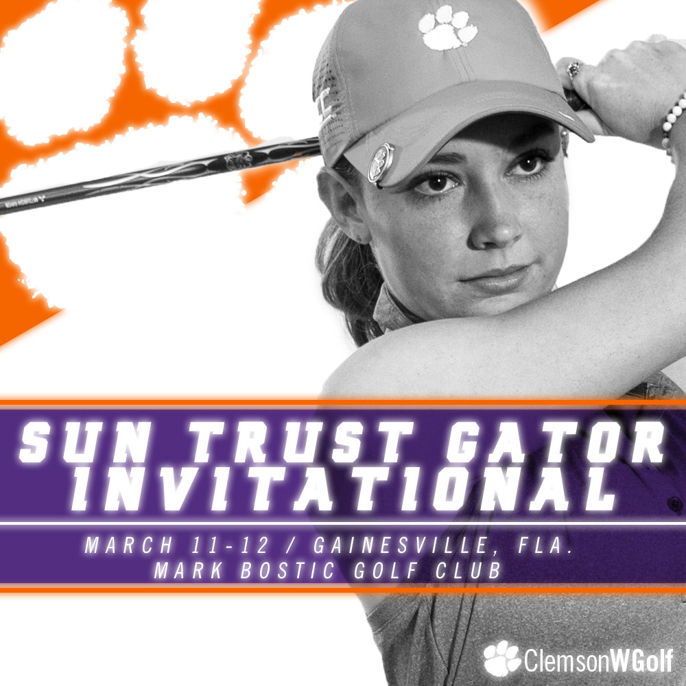 Clemson Women Head to Gator Invitational