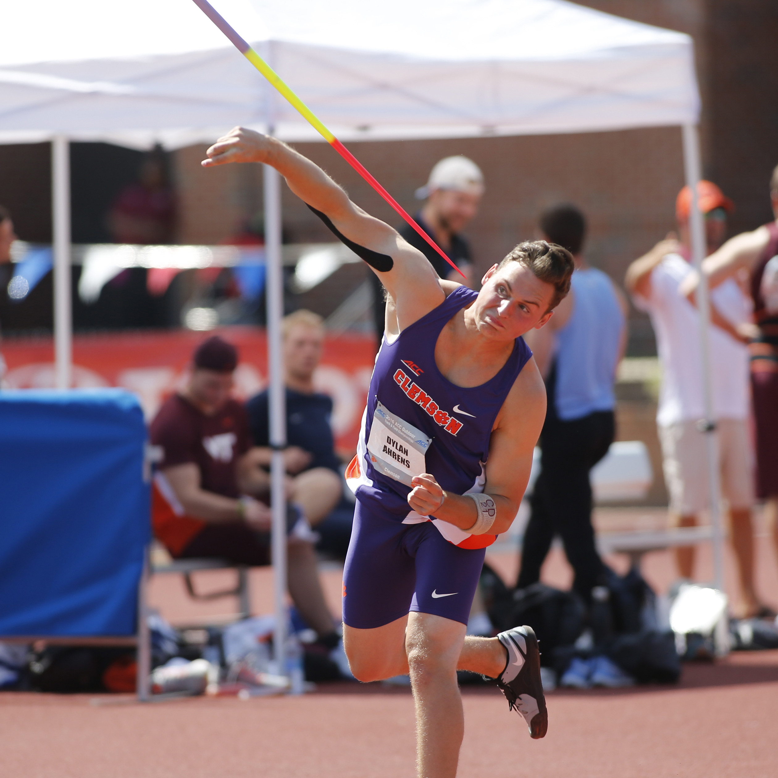 Ahrens Wins Javelin In 49er Classic