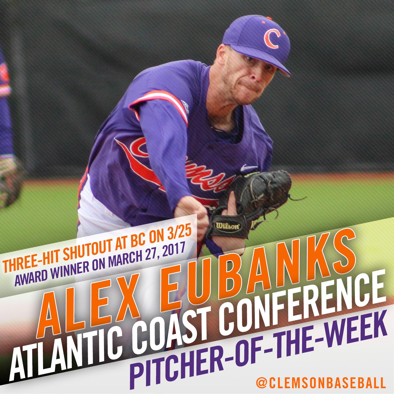 Eubanks Earns ACC Honor