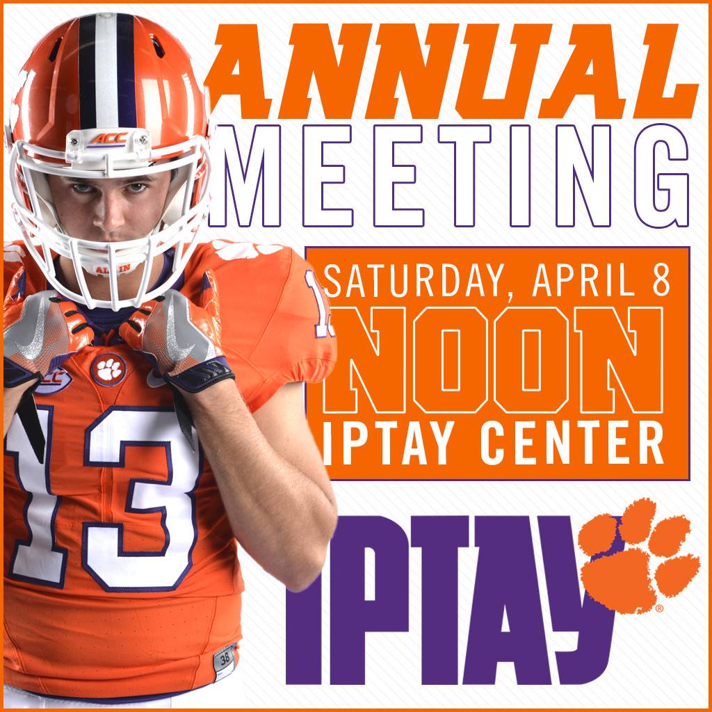 IPTAY Annual Meeting Set For April 8