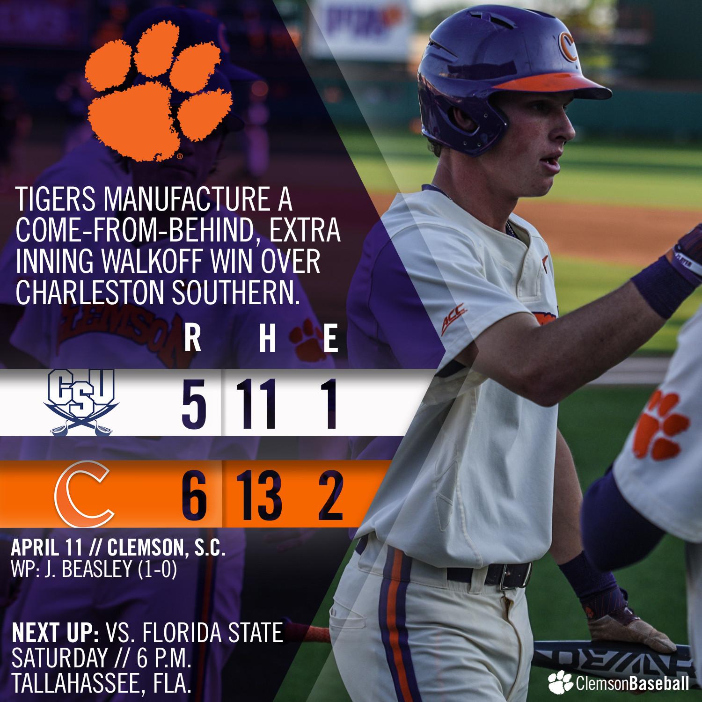 Tigers Edge CSU 6-5 in 11