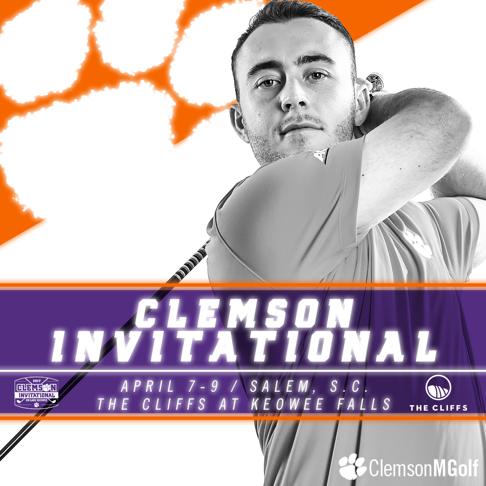 Tiger Men Open Play in Clemson Invitational on Friday