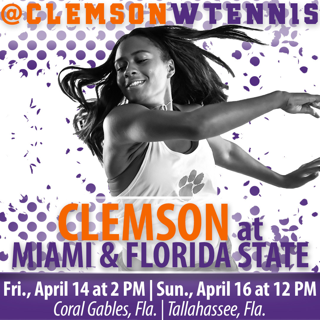 Tigers Head to Florida for Two ACC Road Matches