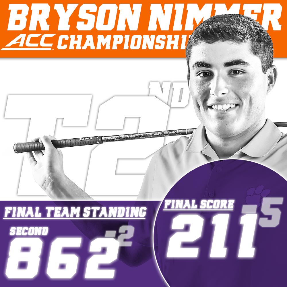 Clemson Finishes Second at ACC Tournament