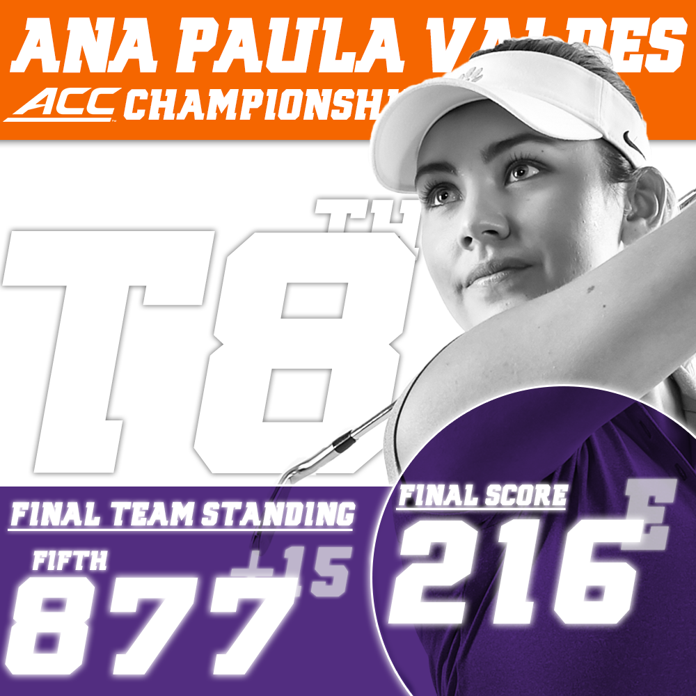 Clemson Finishes Program Best Fifth Place at ACC Tournament