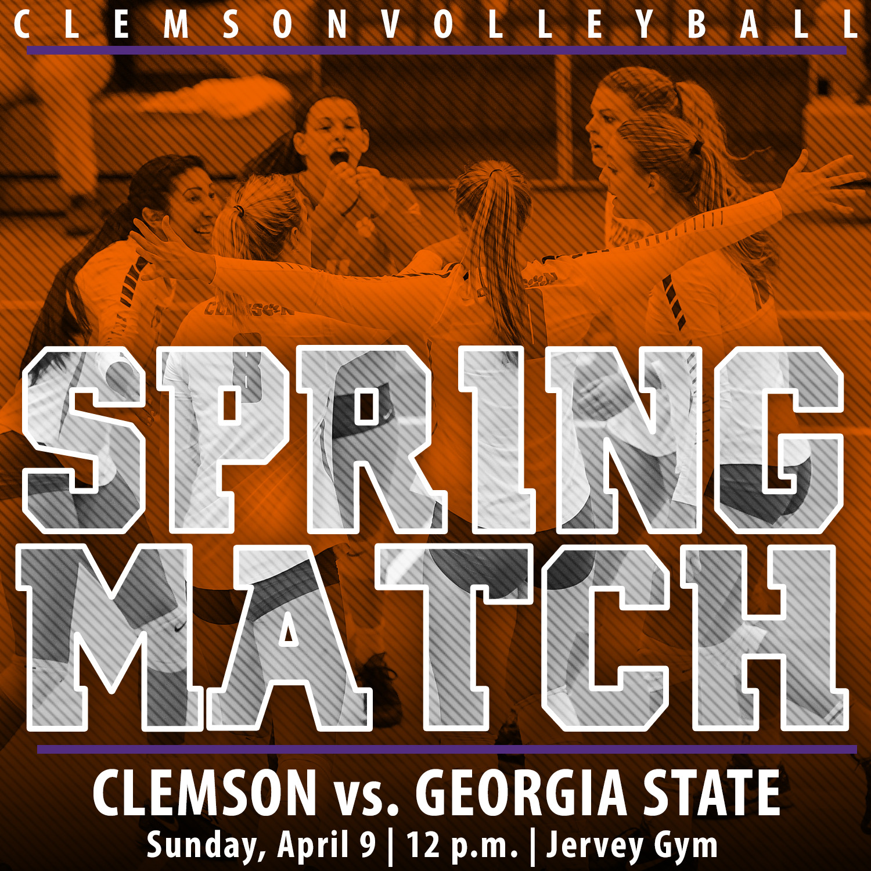 Tigers Host Spring Match Sunday vs. Georgia State
