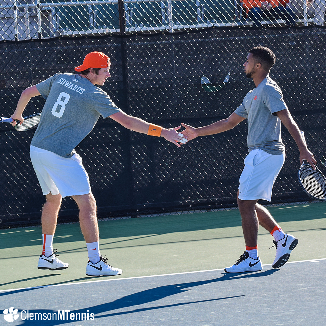 Clemson Falls to No. 11 North Carolina Despite Top 10 Doubles Upset by Sanon and Edwards