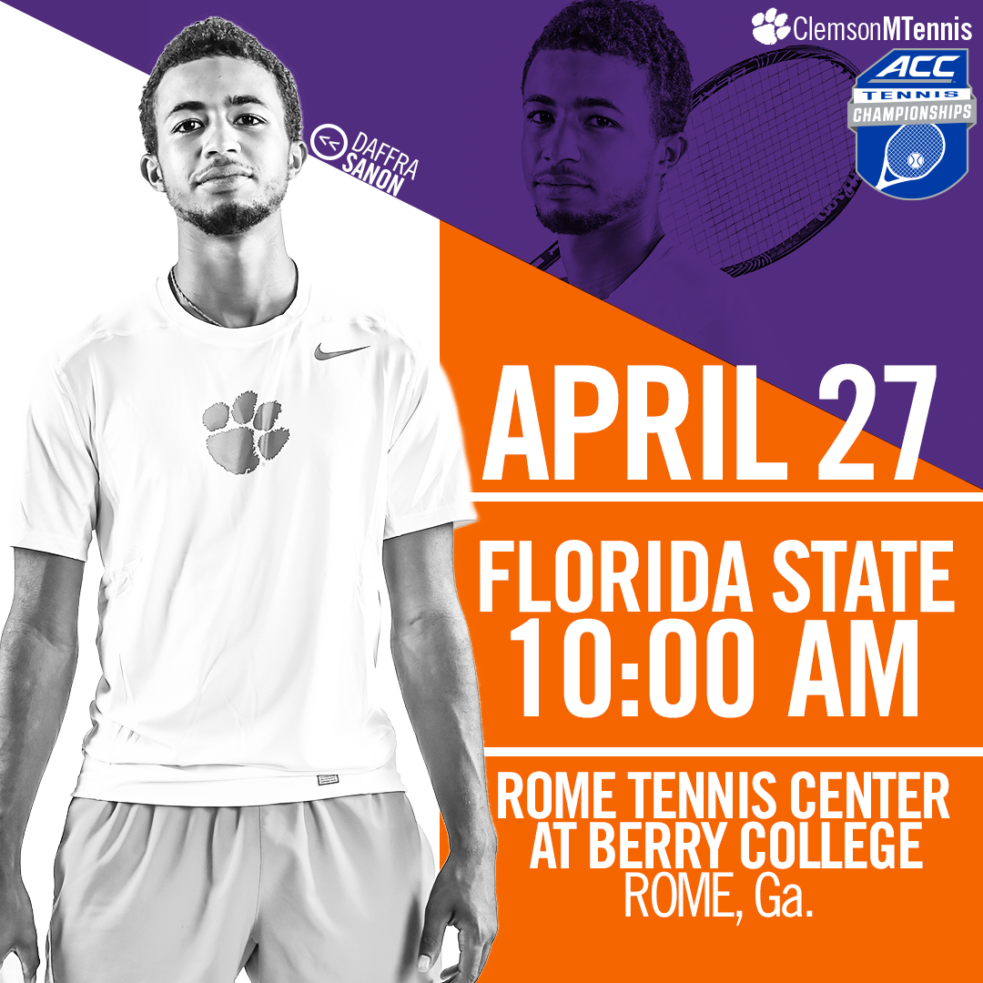 Clemson Faces Florida State in ACC Tournament Second Round