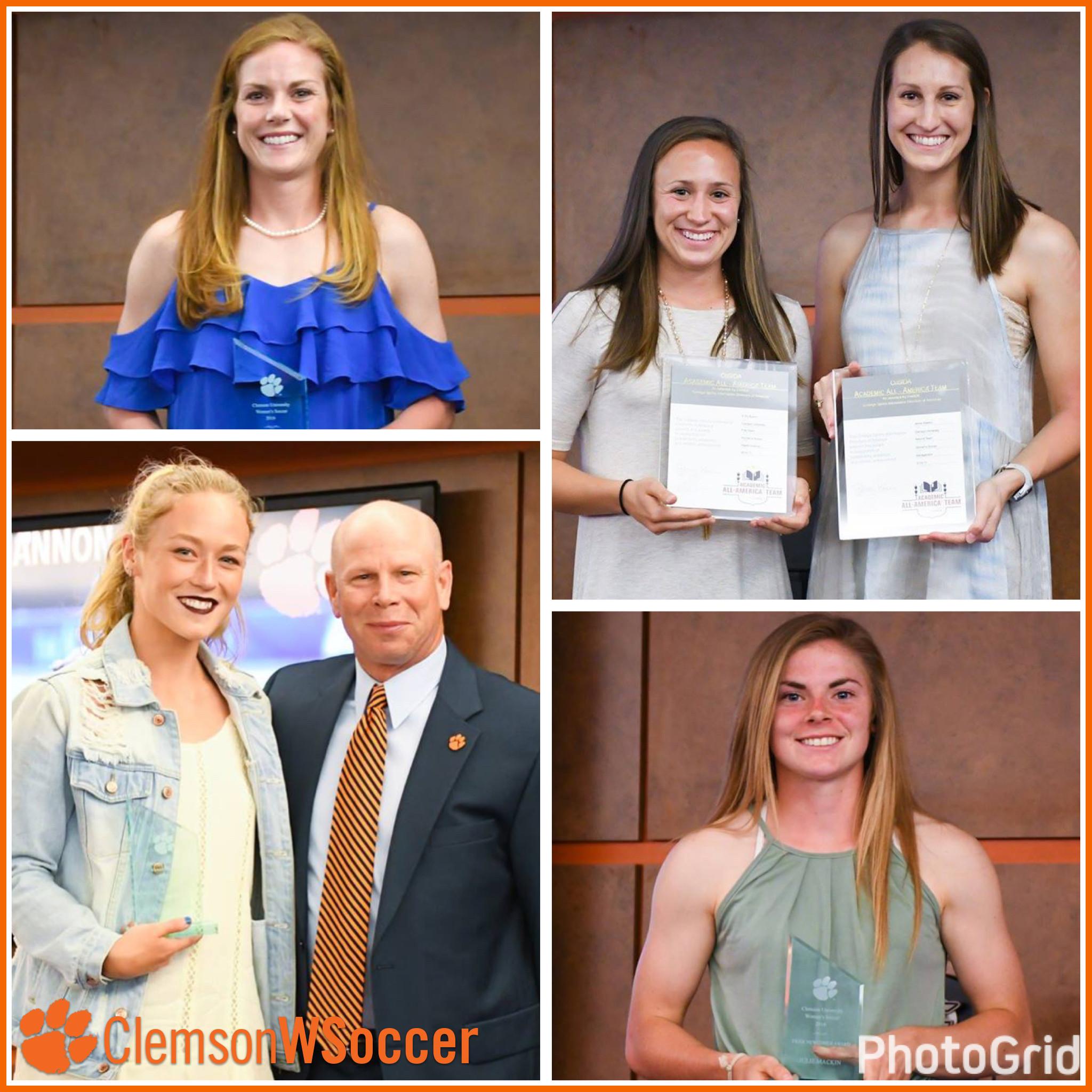 Clemson Women's Soccer Program Celebrates 2016 Season, Honors Award Winners