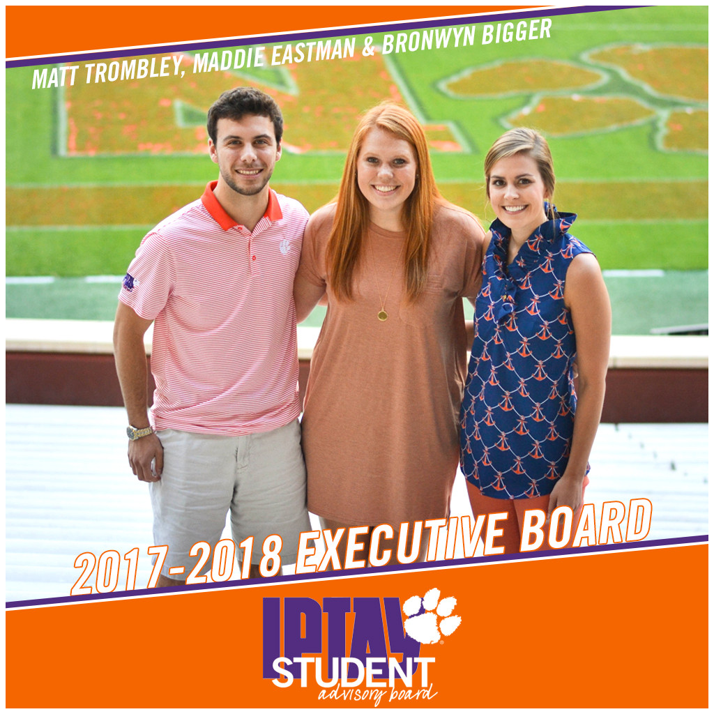 IPTAY Student Advisory Board Elects New Executive Board; Welcomes New Members for 2017-2018
