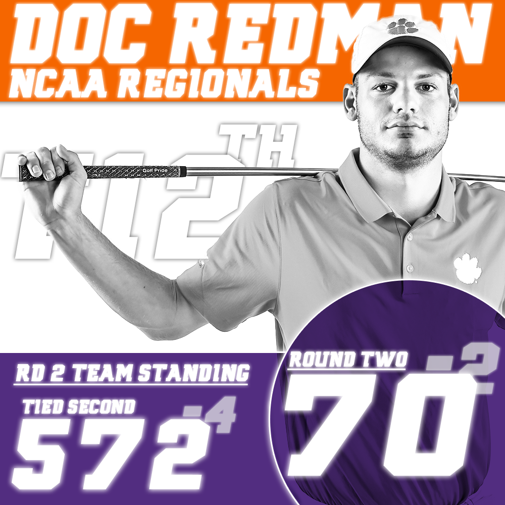 Clemson Tied for Second at NCAA Regional