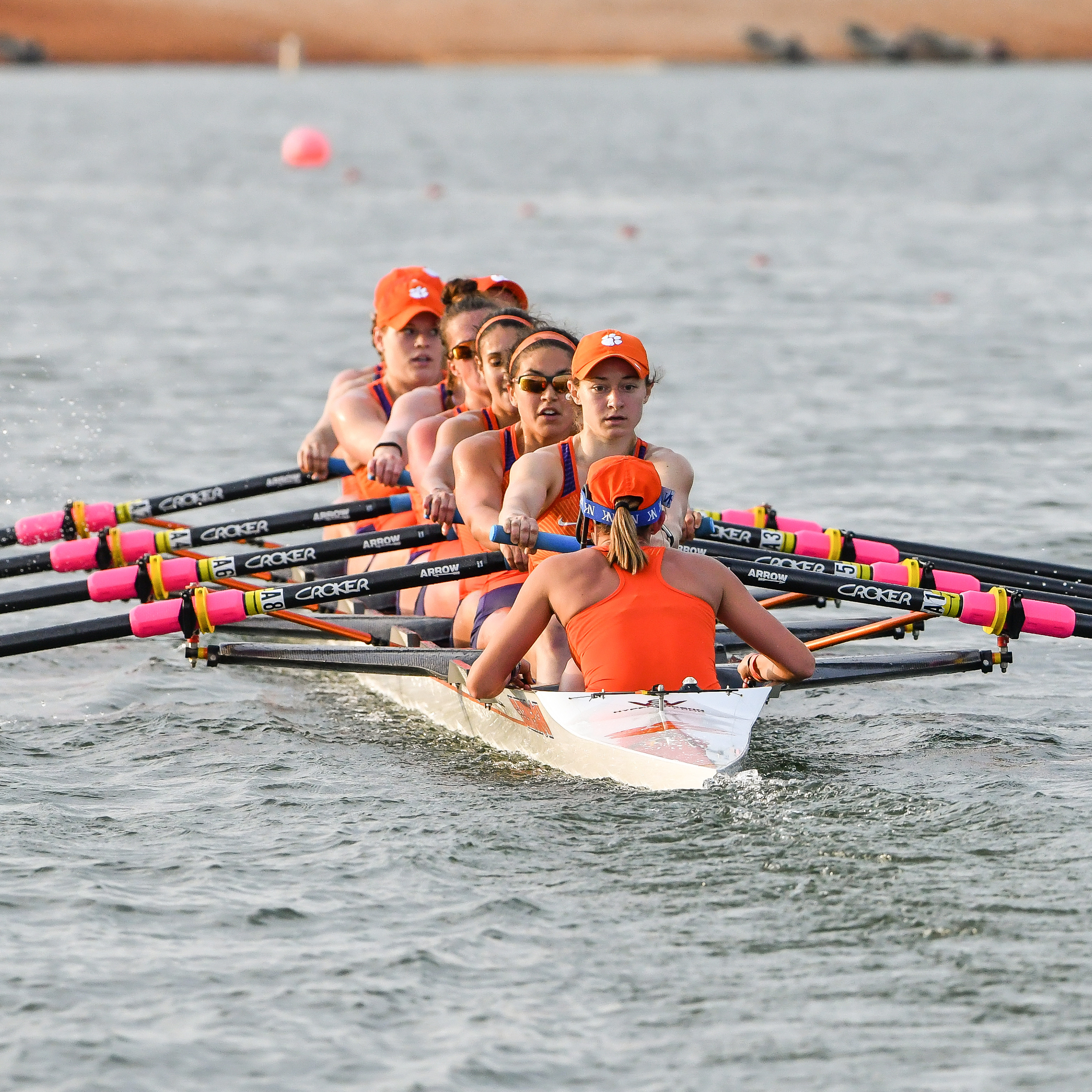 Clemson Finishes Sixth at ACC Rowing Championships